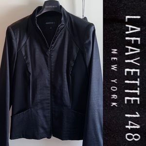 148 Lafayette jacket multi media techno/silk